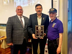 Receiving Recognition from Purple Heart Veterans (MORH)
