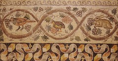 Fragment of Floor Mosaic, Antioch, Syria, 526-540