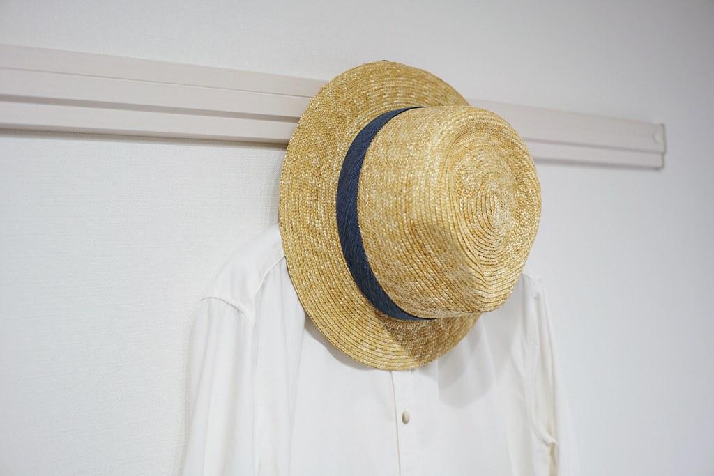 田中帽子店×亀田縞