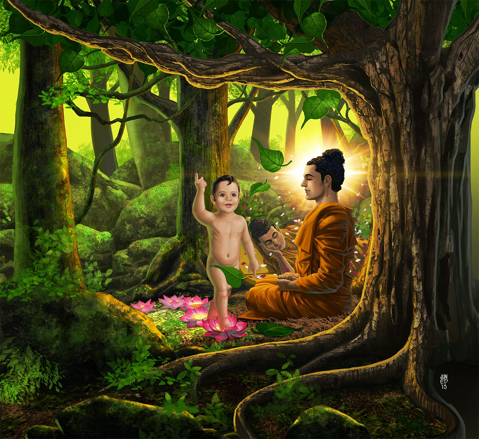Vesak Buja Day, Thailand