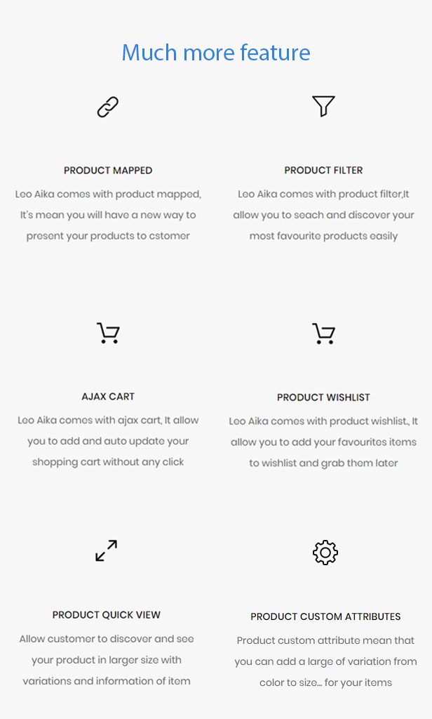 fashion e-commerce prestashop themes 2019 - amazing other features