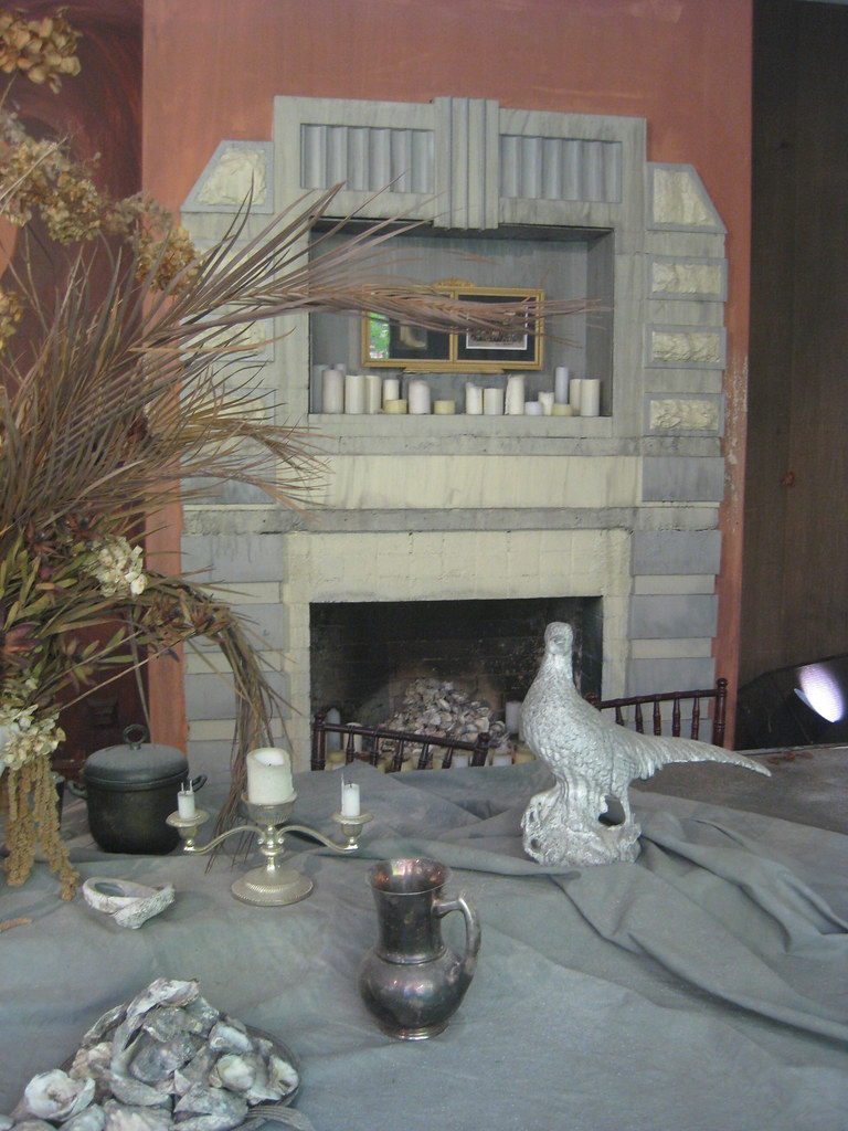 One Of Two Art Deco Dining Room Fireplaces Rone Empire I Flickr