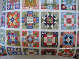 Patchwork Cushion_002 | by Beelationship Embroidery Studio