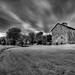 Amish Barn (IR) by George Kurzik