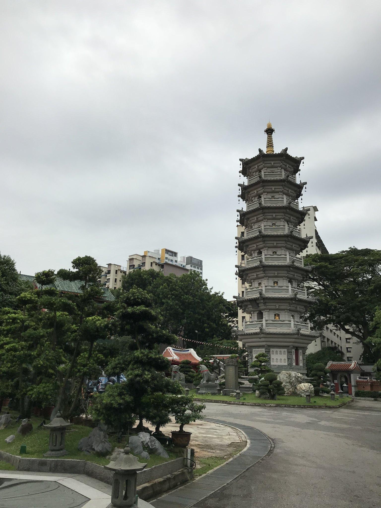 Liang Shan Shuang Lin Monastery. - 2