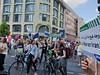"""Mitglieder der Berliner IPPNW-Regionalgruppe bei der Demonstration """"Ein Europa für alle"""" am 19. Mai 2019 in Berlin."""