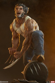 「小子,不要打擾我喝酒!」Sideshow Collectibles Premium Format Figure Marvel Comics【羅根】Logan 1/4 比例全身雕像作品 普通版/EX版