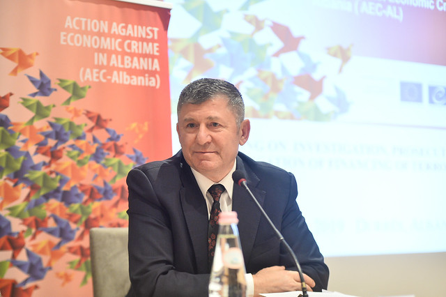 "ALBANIA: training on ""Investigation, prosecution and adjudication of financing of terrorism"""