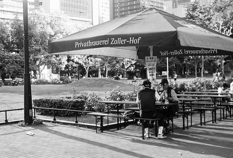 Leitz Ⅲf+Elmar 50mm f3 5+Ilford XP2 400日比谷公園日比谷オクトーバーフェスト2019