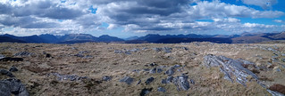 Panorama from Beinn na Feusaige looking North | by Seal54