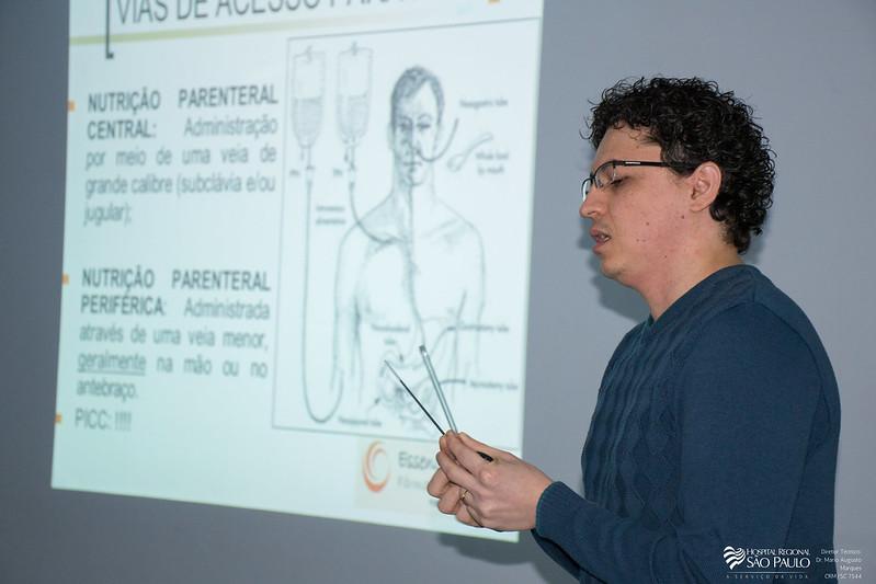 Palestra Nutrição Parenteral - 44ª Semana da Enfermagem