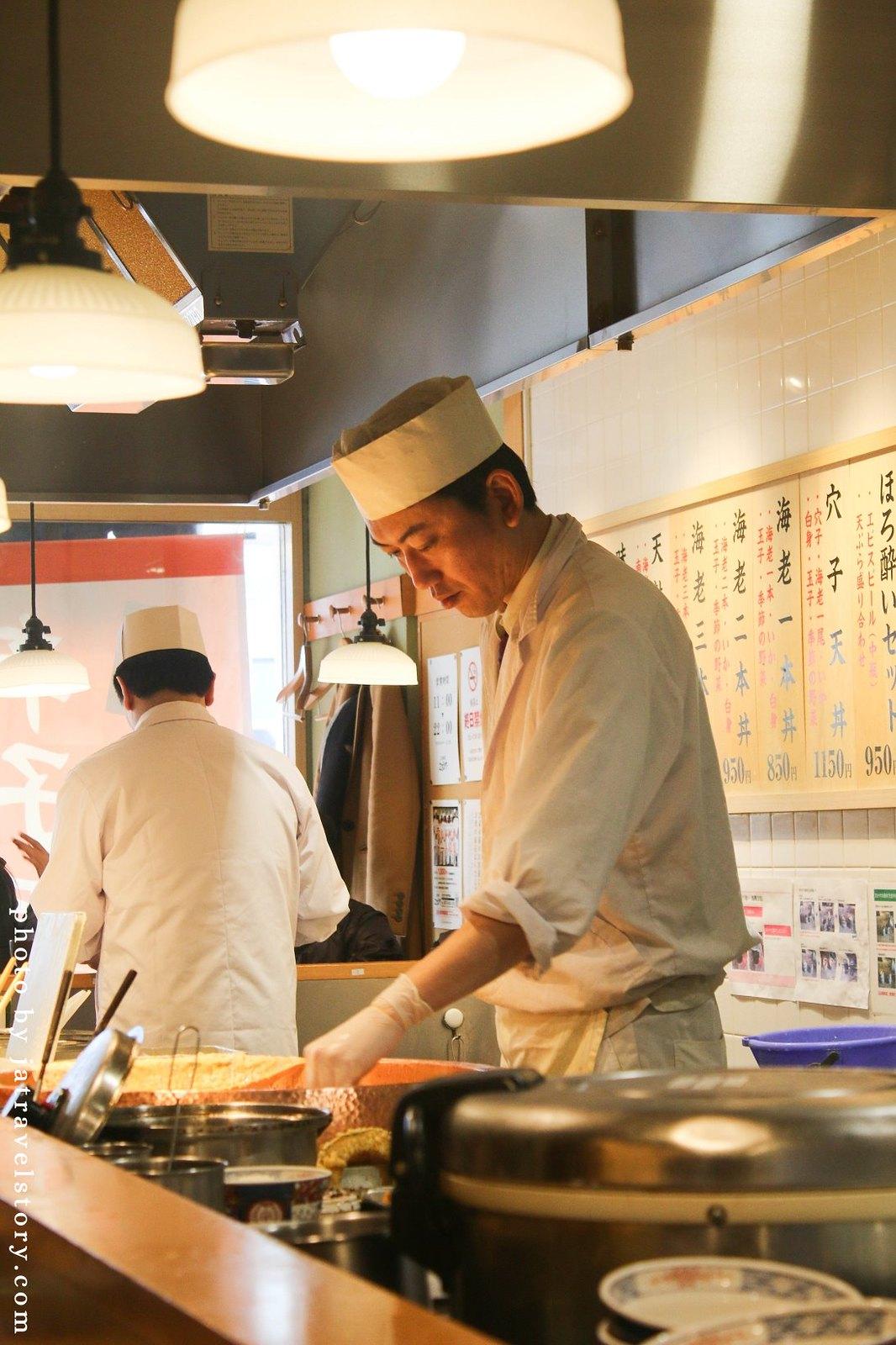 【大阪美食】天麩羅えびのや 黒門市場 明太子免費吃到飽,天婦羅丼飯定食日幣850元起。 @J&A的旅行