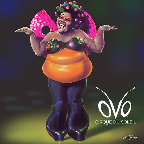 LadyBug - oVo - Cirque du Soleil