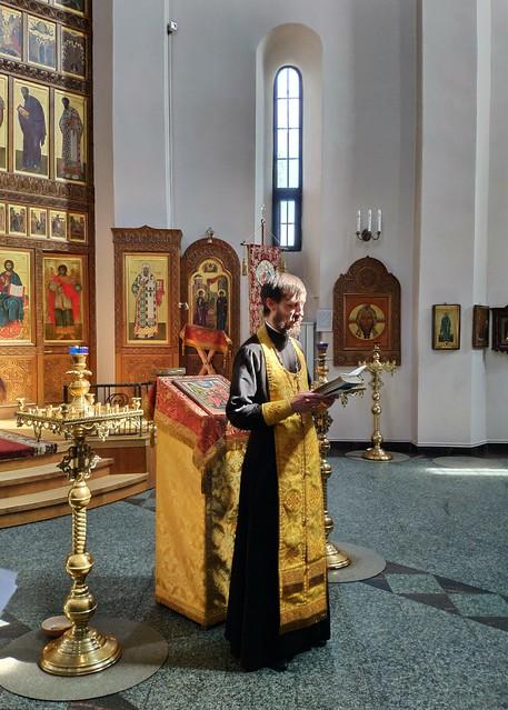 Крещение Бориса и Иоанна