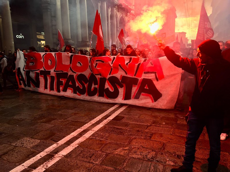 Corteo antifascista contro Forza Nuova (20/5/19)