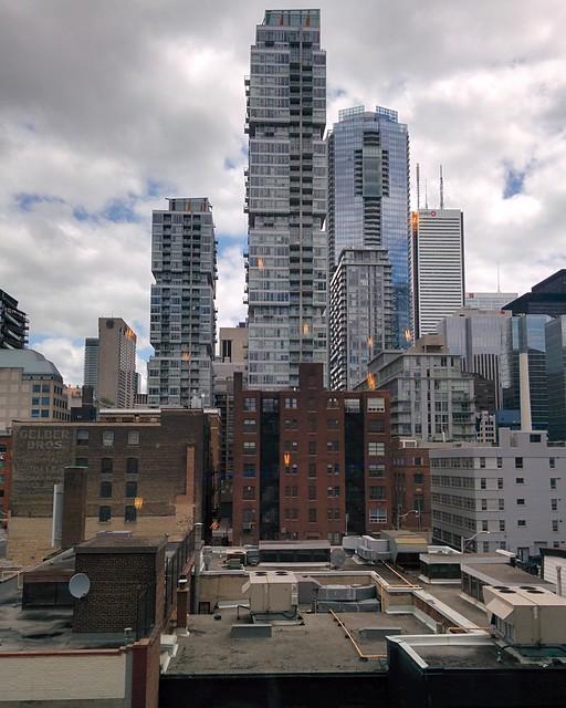 Looking east #toronto #skyline #scotiabanktheatre #downtowntoronto
