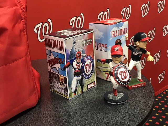Nationals 2019 Bobblehead #3 - Captain Zimmerman