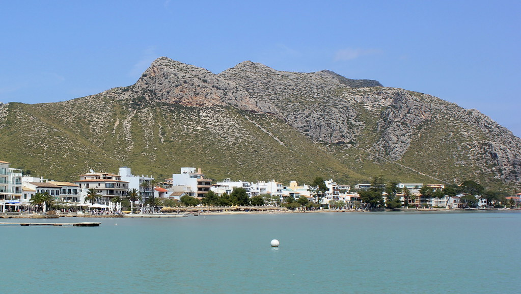 Puerto Pollensa, Majorca, Balearic Islands 23/04/19