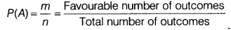 Probability Class 11 Notes Maths Chapter 16