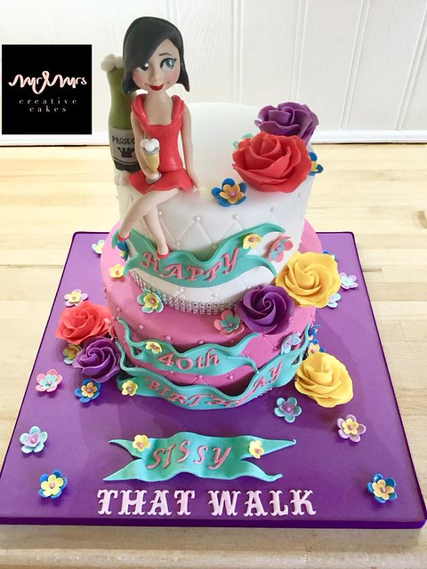 Cake by Mr & Mrs Creative Cakes
