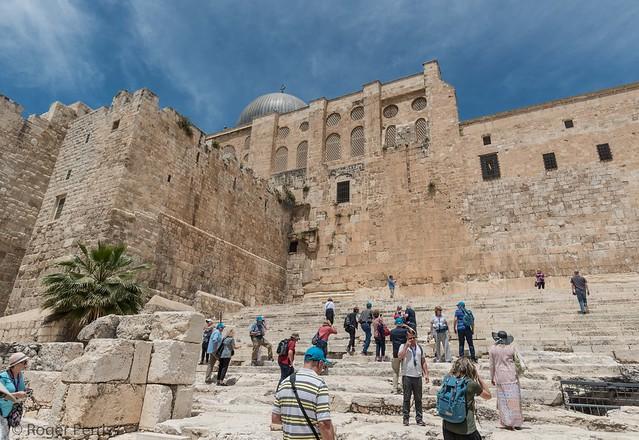 SOUTH  APPROACH TO TEMPLE MOUNT/ EL AKSA MOSQUE, JERUSALEM__DSC_4320_LR_2.5-2