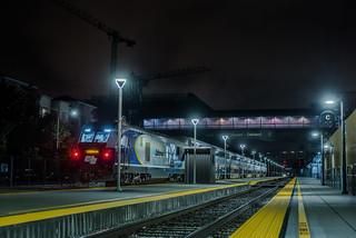 eastbound turnaround train