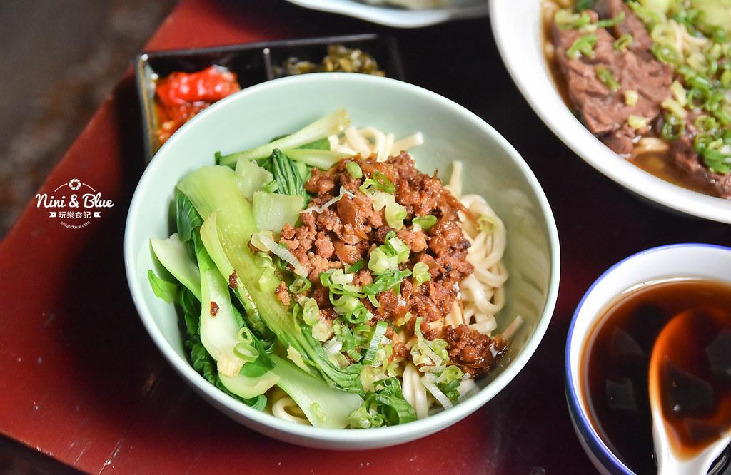 陋巷之春老家牛肉麵 menu菜單 台中中華夜市美食26