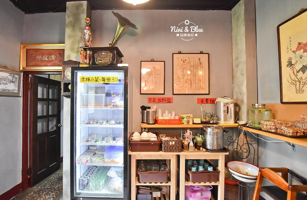 陋巷之春老家牛肉麵 menu菜單 台中中華夜市美食06