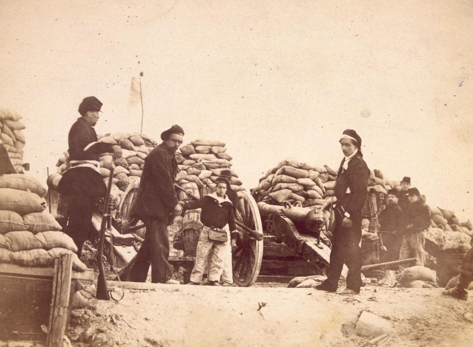 1871. Артиллерийская батарея