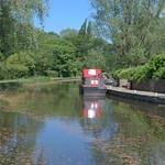 Scenic canal at Preston