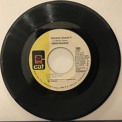 GWEN MCCRAE:ROCKIN' CHAIR(RECORD SIDE-A)