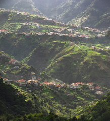 Beautiful hillscape of Madeira