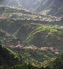 Beautiful hillscape of Madeira