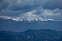 Spring storm on Monte Terminillo