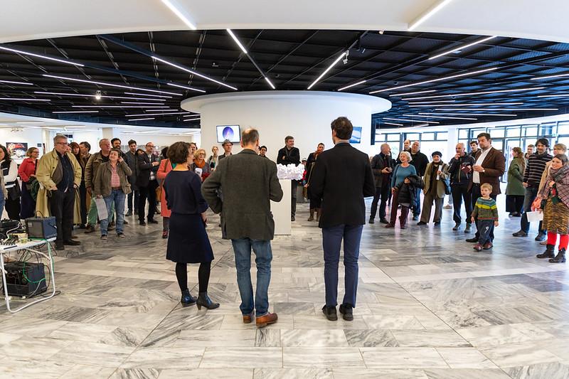 Ausstellungseröffnung/ Matinee, Eröffnung artspring dezentral