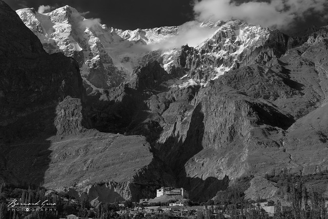 Ultar Peak and Baltit Fort, second part of afternoon