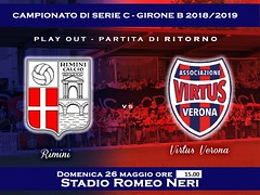 PLAY OUT Rimini-Virtus Verona 2-0
