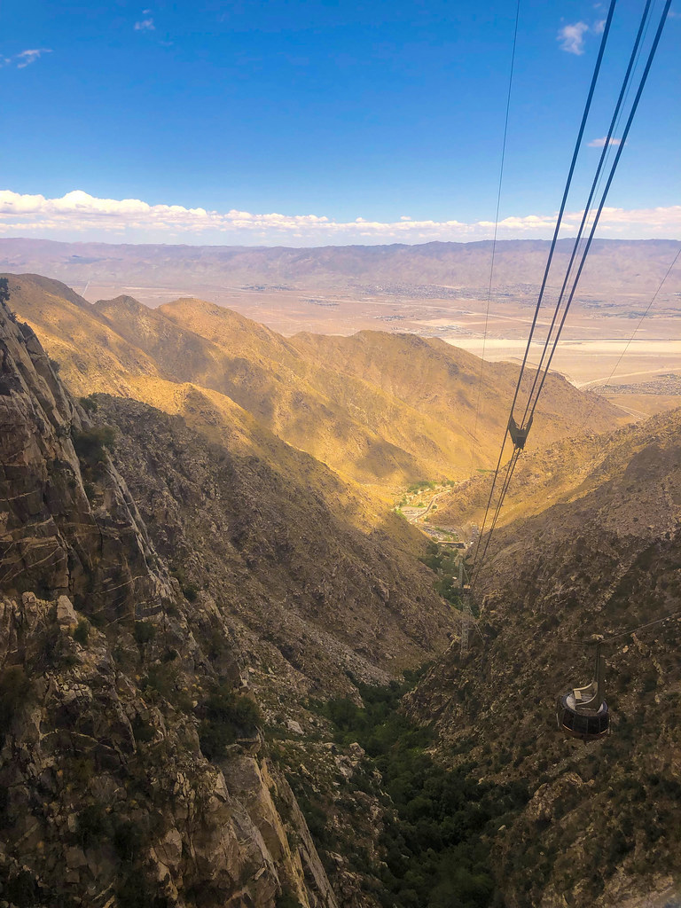 Views from the Palm Springs Aerial Tramway