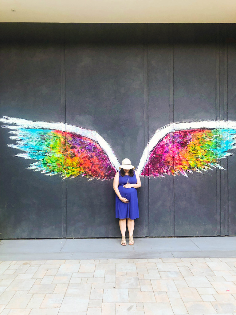 Posing with the Colette Miller Wings