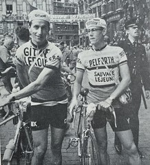 Tom Simpson and Alan Ramsbottom 1962