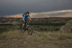 Biking the Badlands