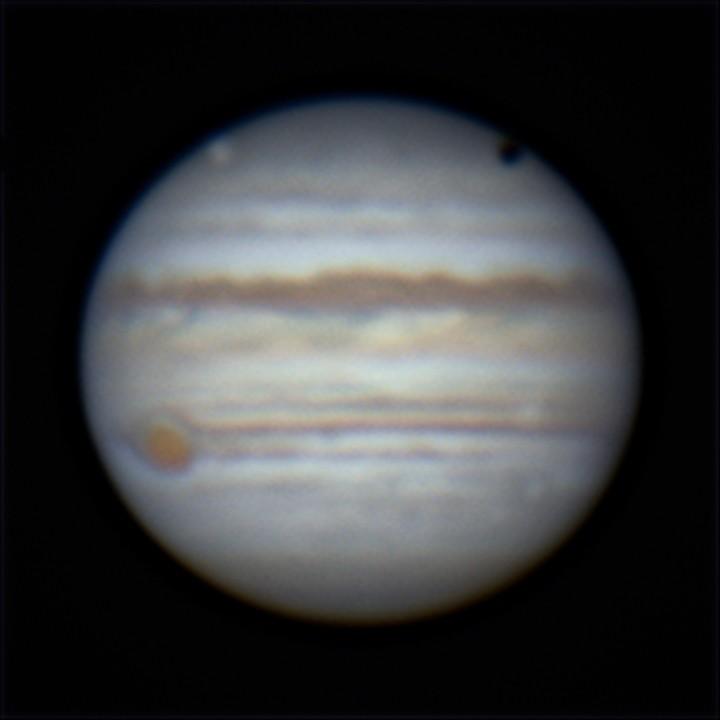 木星とガニメデ (2019/5/22 02:47)