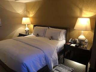 Room at the Conrad Hong Kong