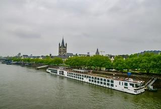 Rhein River, Cologne
