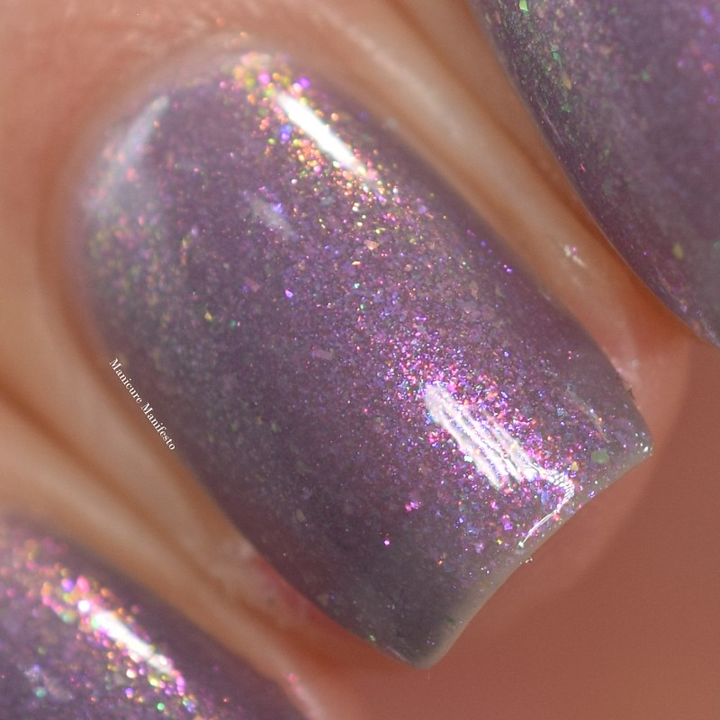 Girly Bits Smoke On The Water swatch