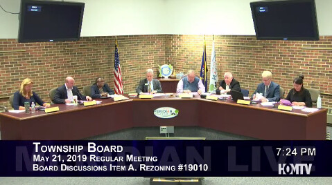Affordable Housing Development Plans Before Township Board