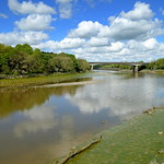 River Ribble scene at Preston