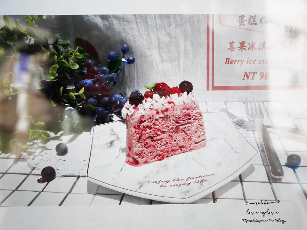 新北板橋Chic Chic咖啡廳推薦夢幻甜點冰品下午茶ig打卡景點  (7)