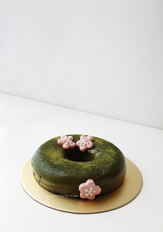 Flourless Matcha Cake Recipe sugar free
