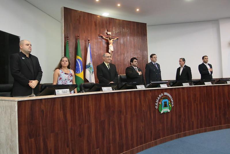 Solenidade em homenagem aos 15 anos de inauguração do Cruzeiro de Santiago, aos 415 anos do Marco Zero de Fortaleza e entrega da Medalha Boticário Ferreira ao Reverendo Júlian Bairro (